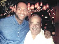 Carlos Slim cenó con LeBron James