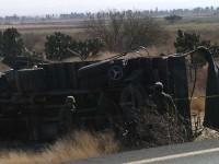 Mueren dos soldados en accidente de tránsito