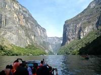Muere hombre tras lanzarse en Cañón del Sumidero