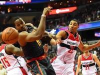 Wizards echa a Atlanta Hawks