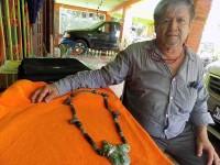Collar de jade maya