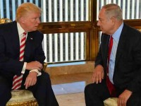 Recibe Netanyahu al presidente Trump