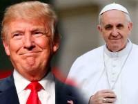 Hoy recibe el papa a Donald Trump