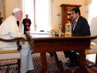 Maduro pide ayuda al Papa