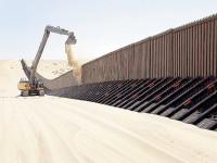 Aprueba presupuesto del muro fronterizo