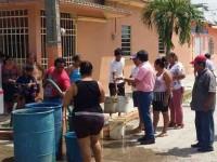 Atiende emergencia de falta de agua en Cárdenas