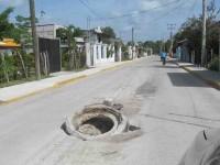 Obras de mala calidad reportan en villa Jalupa