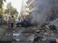 Atacan escuela Siria