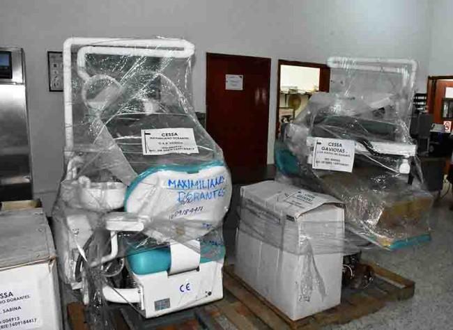 Entregan equipos médicos para Centros de Salud