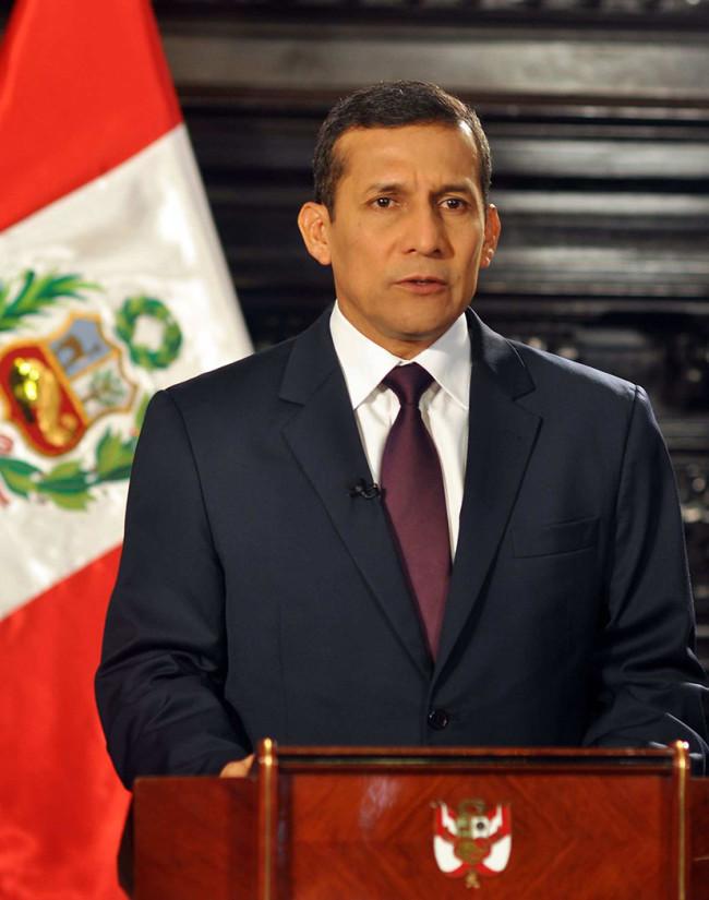 Ollante Humala, a prisión