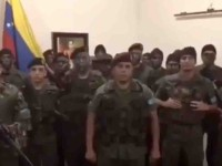 Llaman militares a desconocer a Maduro