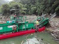 Retiran basura del  Cañón del Sumidero