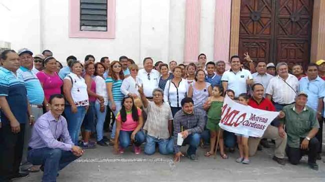 Busca Morena el apoyo para a AMLO en Cárdenas