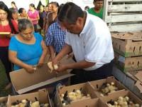 Fortalecen economía familiar  de traspatio en región de Los Ríos