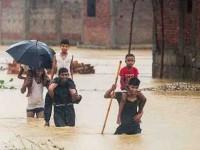 Nepal bajo el agua