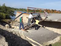"""Urge reparación  del puente """"Pastal"""""""