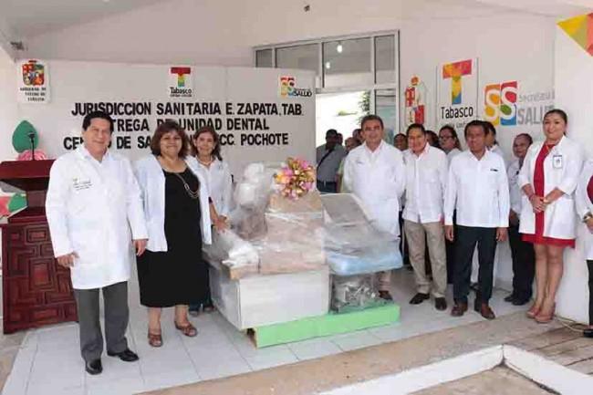 Fortalece Salud infraestructura médica de Balancán y Zapata