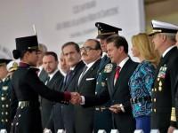 Reconoce Peña Nieto ayuda de las Fuerzas Armadas tras sismo