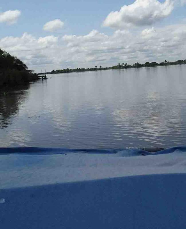 En Centla sube el río Usumacinta