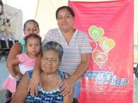 Da 'Corazón Amigo'  mejor calidad de vida a familias