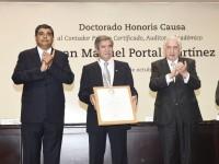Juan Manuel Portal  'Doctor Honoris Causa'