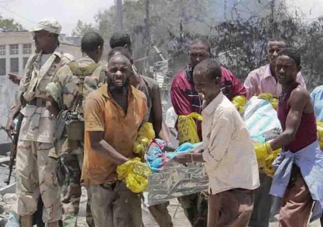 Duelo nacional en Somalia