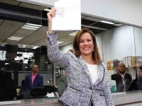 Se registra Margarita Zavala como aspirante a candidata independiente