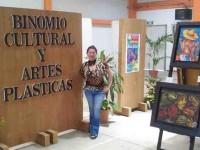 Exponen Moheno y Nava obras pictóricas en la UPCH