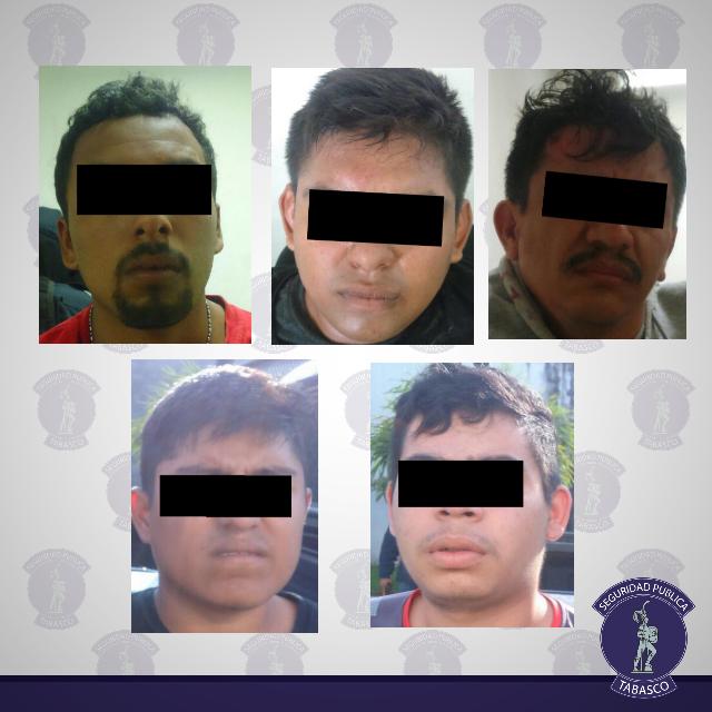 Detenidos cinco por intentar de privar de  la libertad a menores