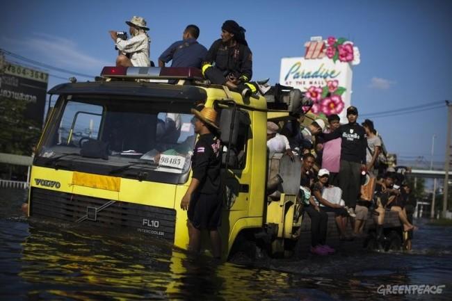 Muertes en Tailandia por las inundaciones