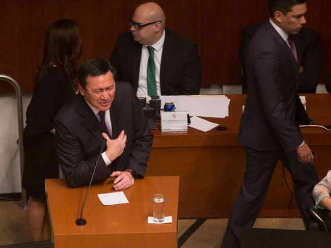 Admite Osorio Chong situación compleja en materia de seguridad
