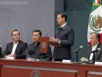 Pide Peña Nieto  transparentar los recursos de reconstrucción
