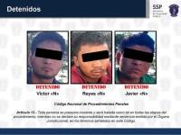 Detienen a célula criminal dedicada al robo de autos
