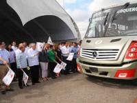Garantizan seguridad a los usuarios de transporte público