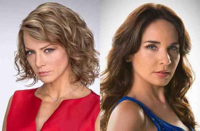 Adriana y Silvia ¡rivales!