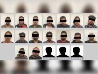 Caen 19 presuntos narcomenudistas