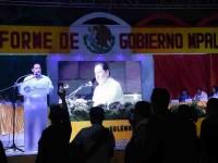 Asiste Solís a II informe  municipal de Paraíso