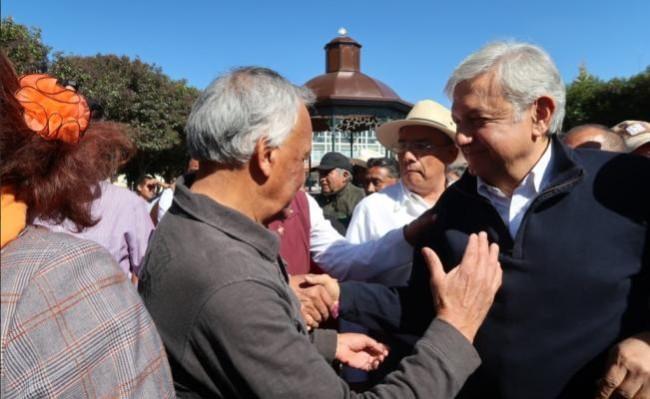 Abierto AMLO al diálogo para garantizar paz