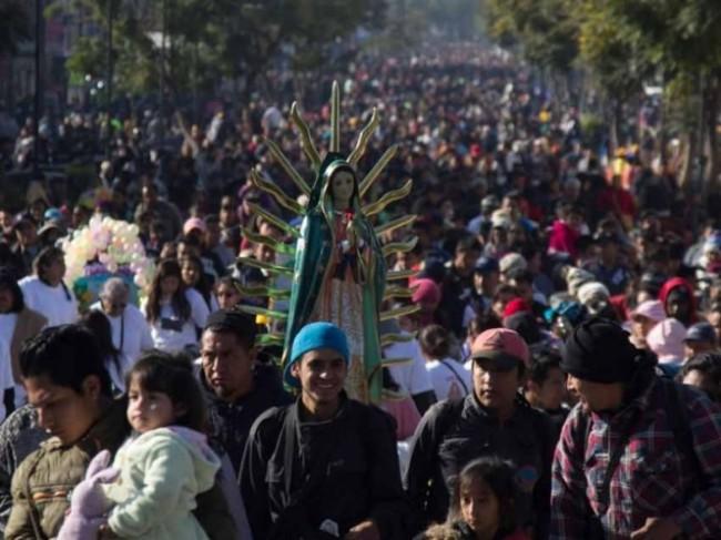 Fervor guadalupano bate récord, llegan más de 7 millones de peregrinos