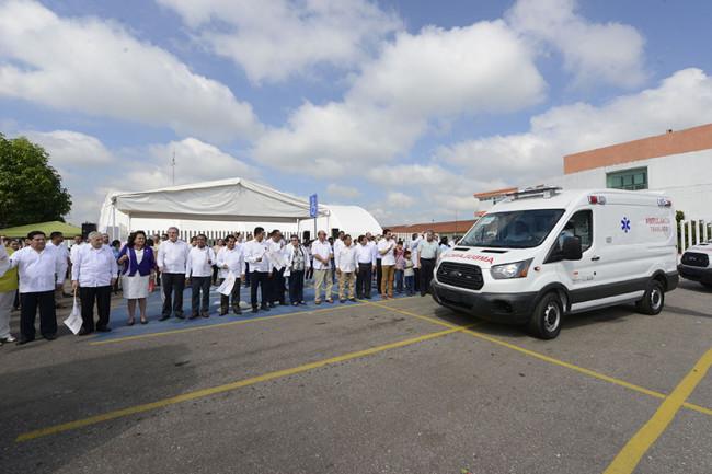 Activa Núñez el Convoy de la Salud