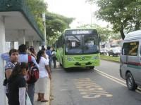 Hasta cuatro atracos diarios en las unidades del TransBus