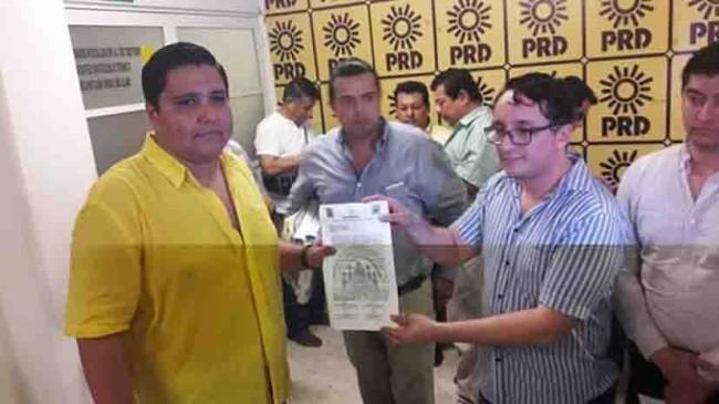 Gallegos Vaca ya es precandidato del PRD