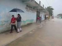 Exhortan autoridades estar alertas por el mal tiempo