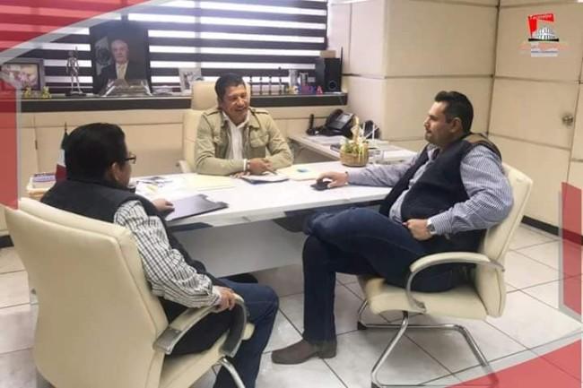 Presiona alcalde a la JEC para dar mantenimiento