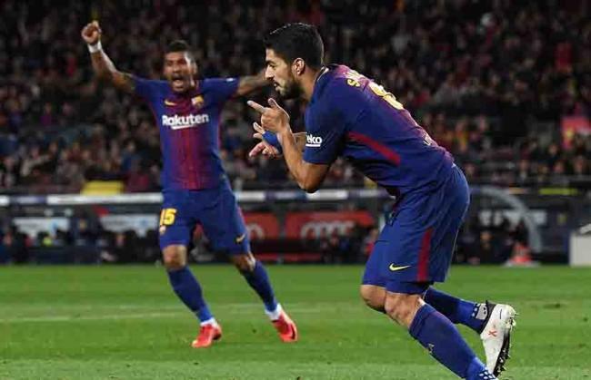¡Messi y  Suárez por  siempre!