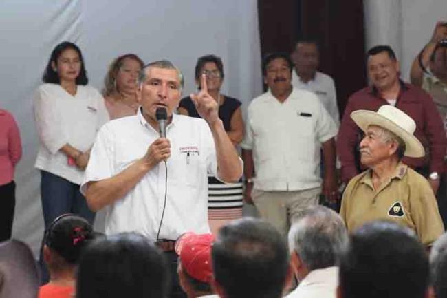 Hay que ir todos unidos  con Obrador y Morena