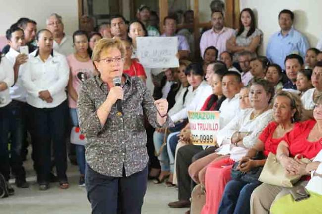 Devolveremos la certeza, seguridad,  desarrollo y prosperidad: Gina Trujillo