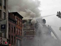 Arde otro edificio