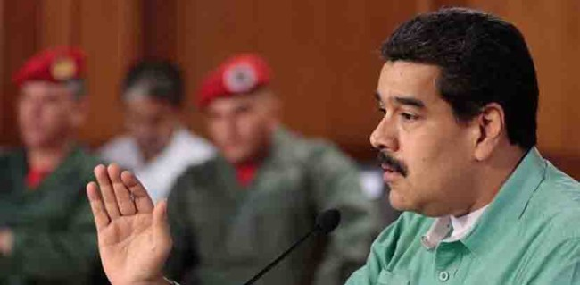 Maduro niega crisis