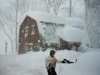 'Bomba ciclónica' cubre de nieve a Nueva York